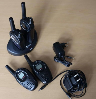 Walkie Talkies mit Kabel